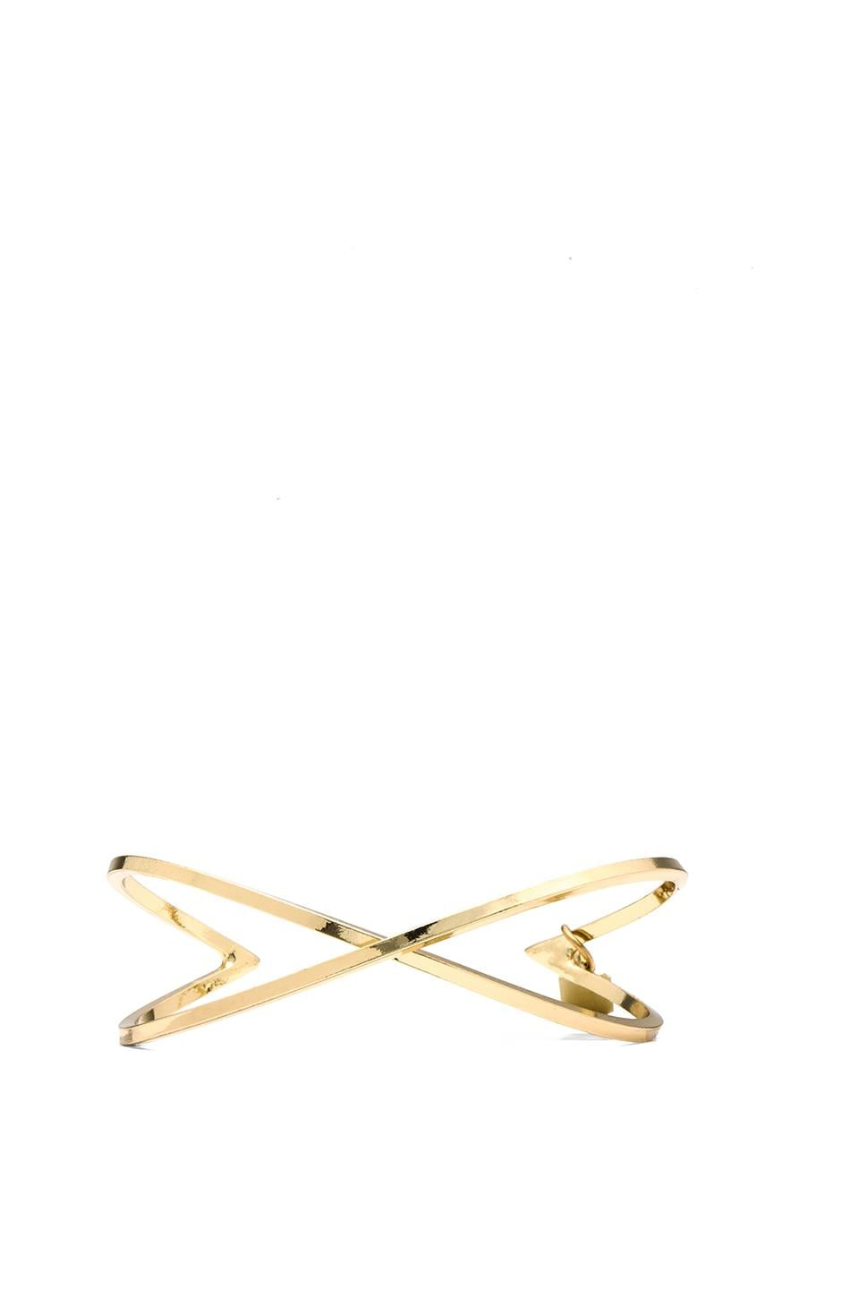 Lucky Star Angelo Cuff in Gold