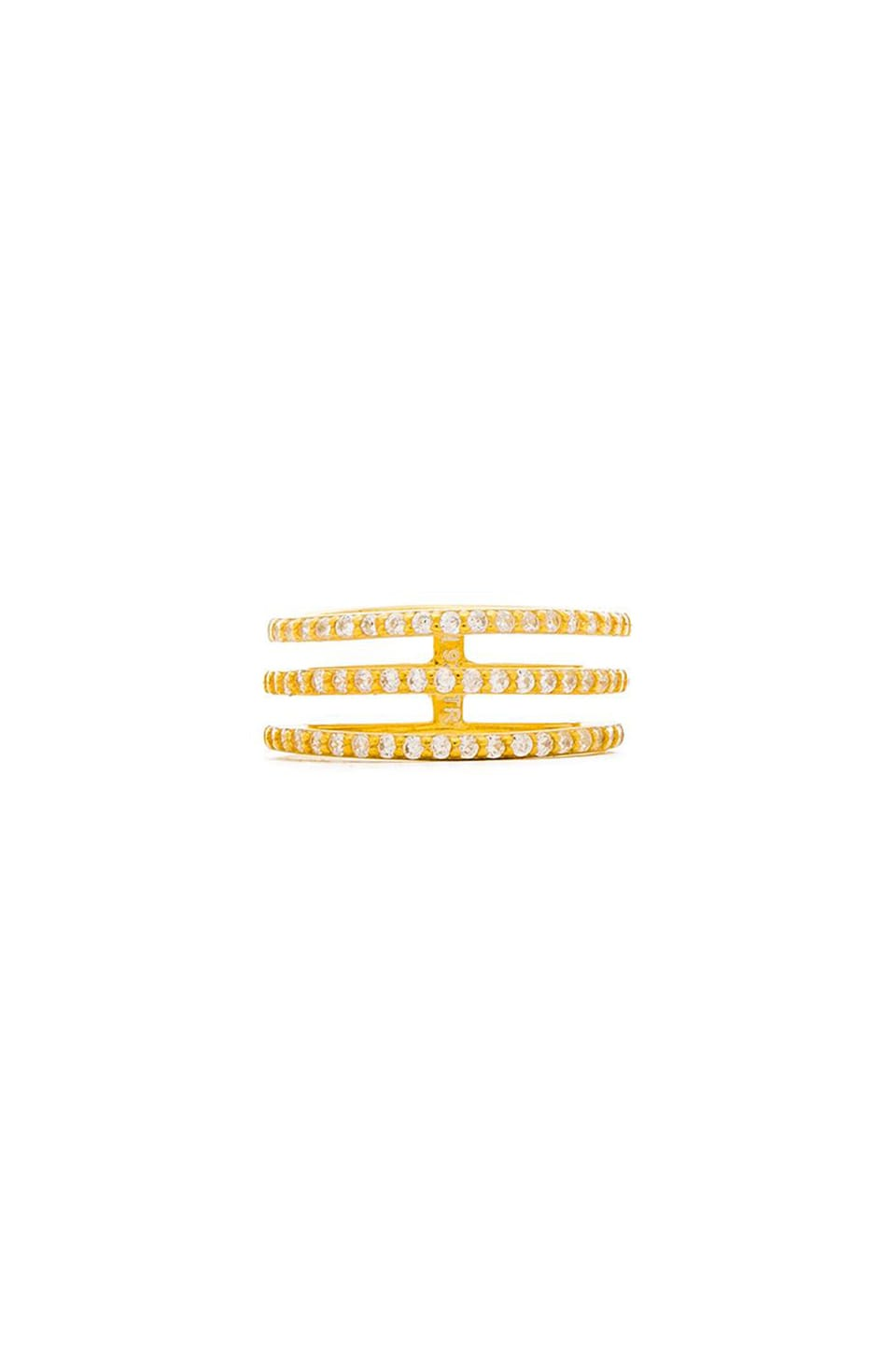Lucky Star Daybreak Ring in Gold