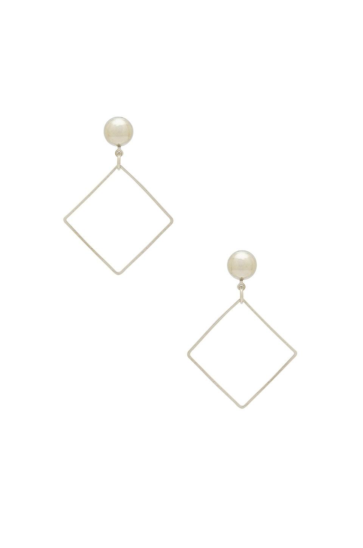 LARUICCI Diamond Earring in Silver