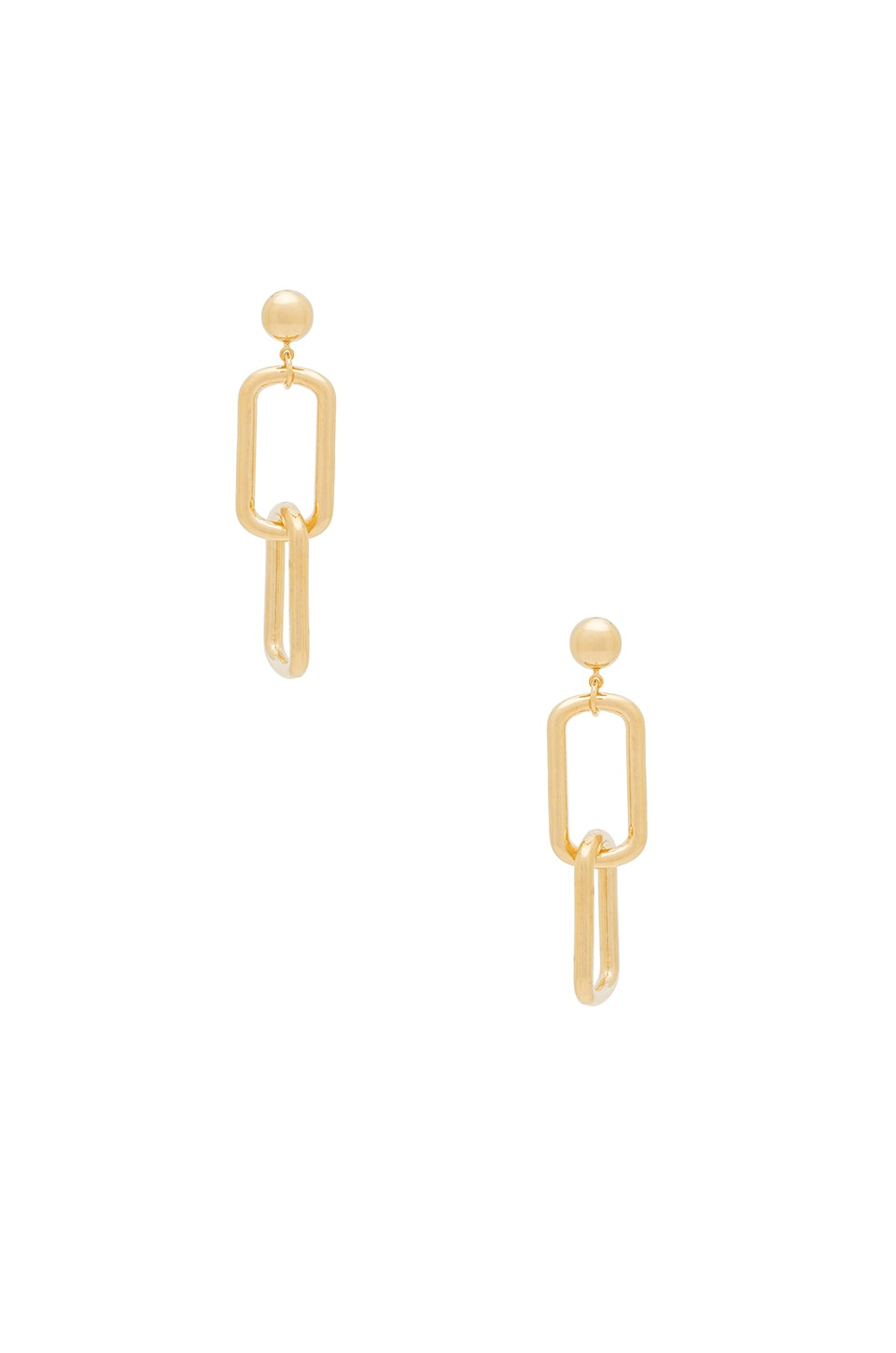 LARUICCI Chain Link Earring in Gold