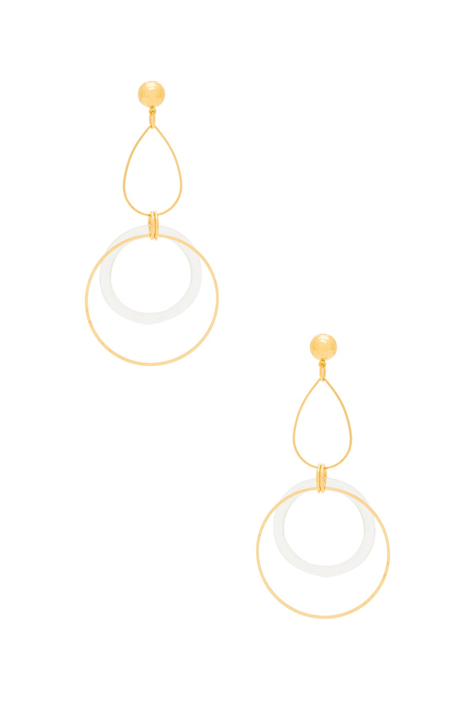 LARUICCI Linked Circle Earring in Gold