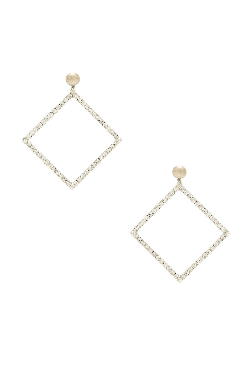 LARUICCI Rhombus Earring in Silver