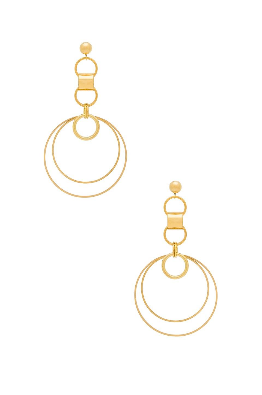LARUICCI Tidal Earring in Gold