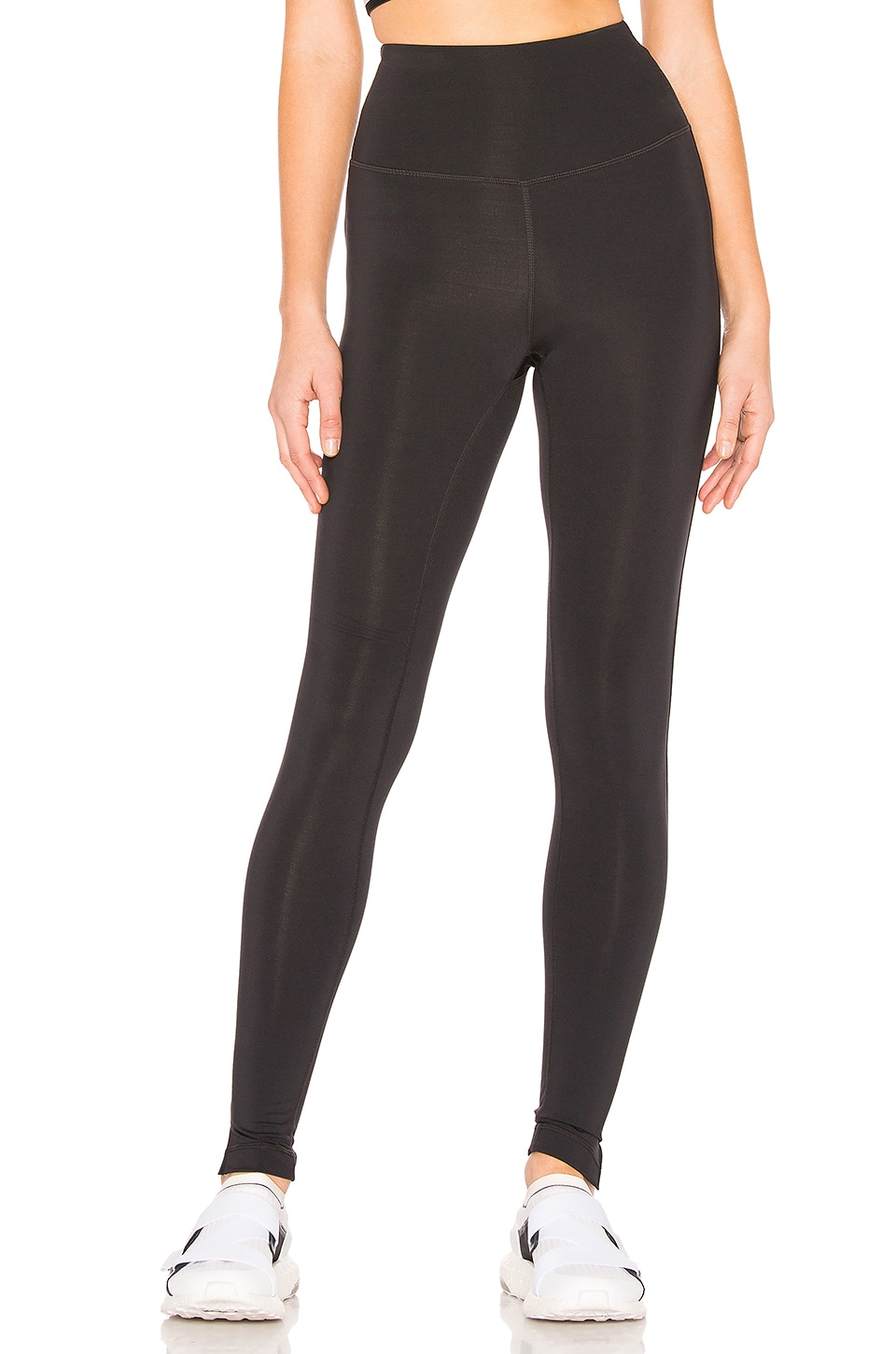lukka lux Split Legging in Black Onyx