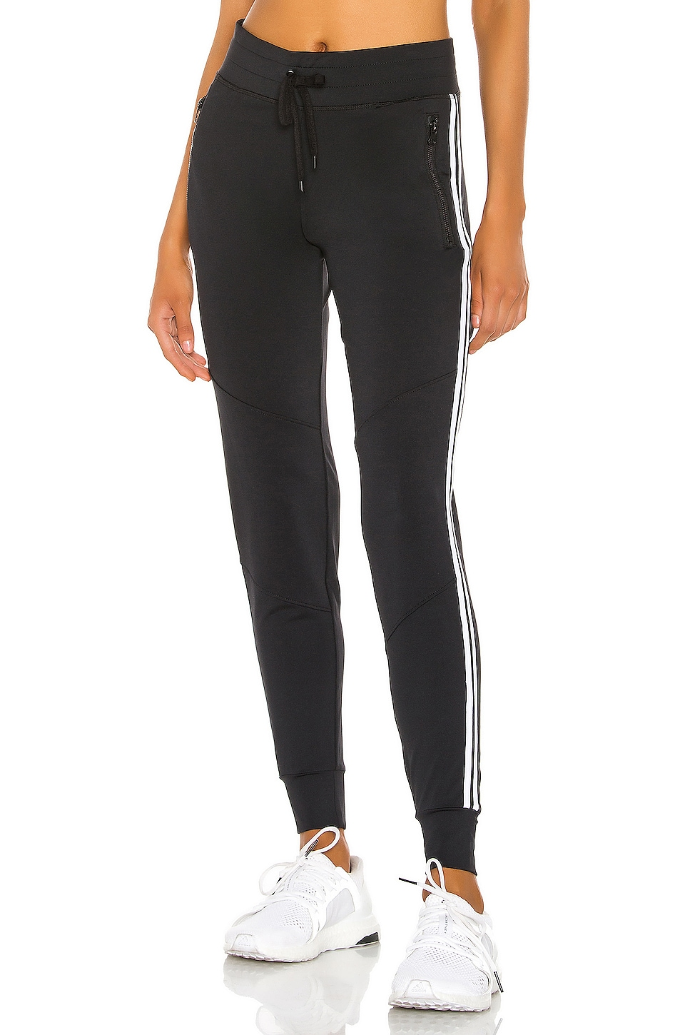 lukka lux Singled Out Jogger in Black Onyx