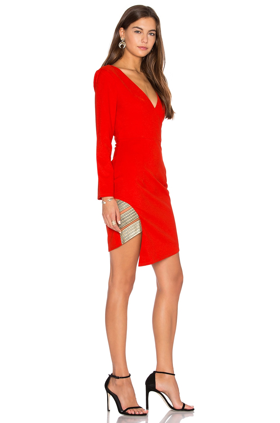 Between The Lines Long Sleeve Dress by Lumier
