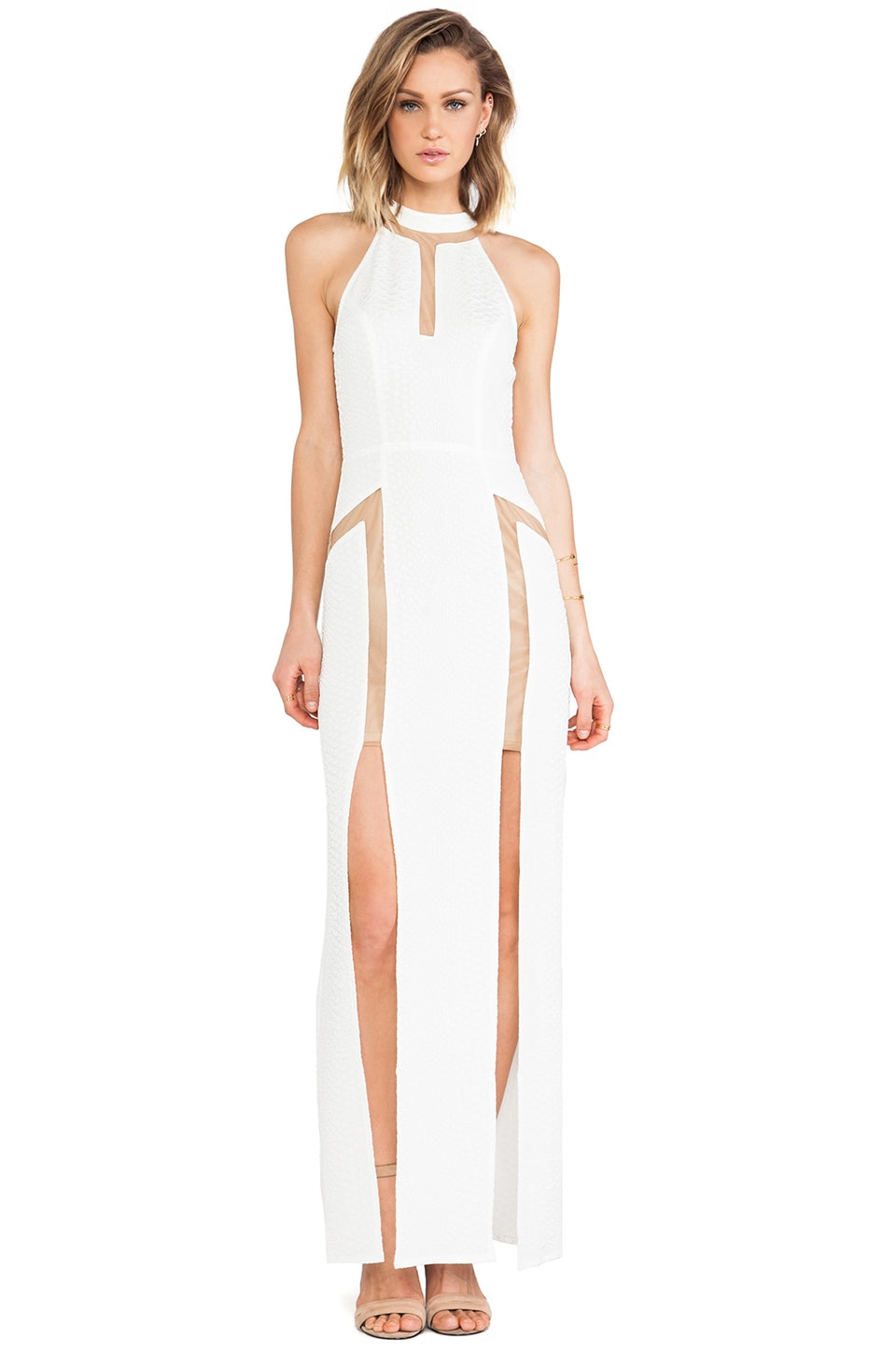 Lumier Snake Bite Maxi in White