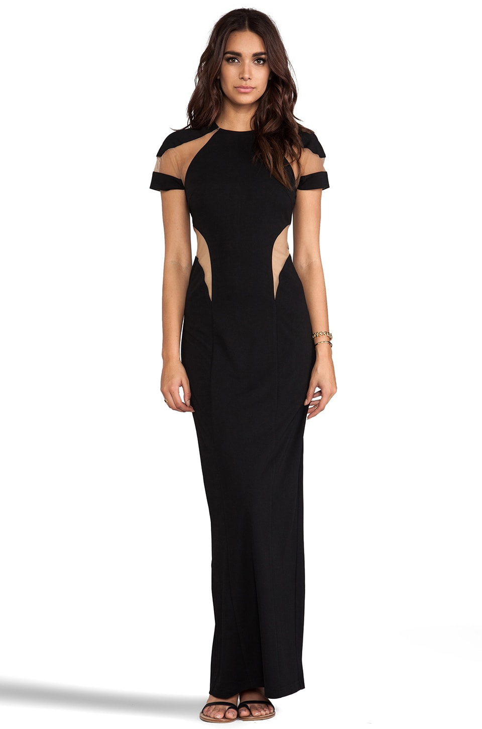 Lumier Impossible Promise Maxi Dress in Black