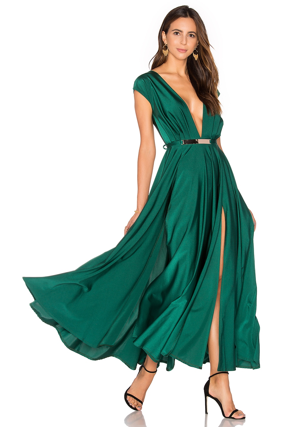 Lurelly Blown Away Dress in Green