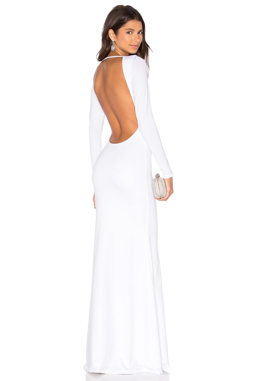 Lurelly Monaco Gown in White