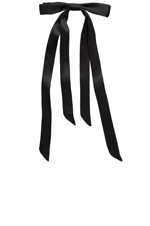 Long Tail Ribbon Long & Skinny Barrette