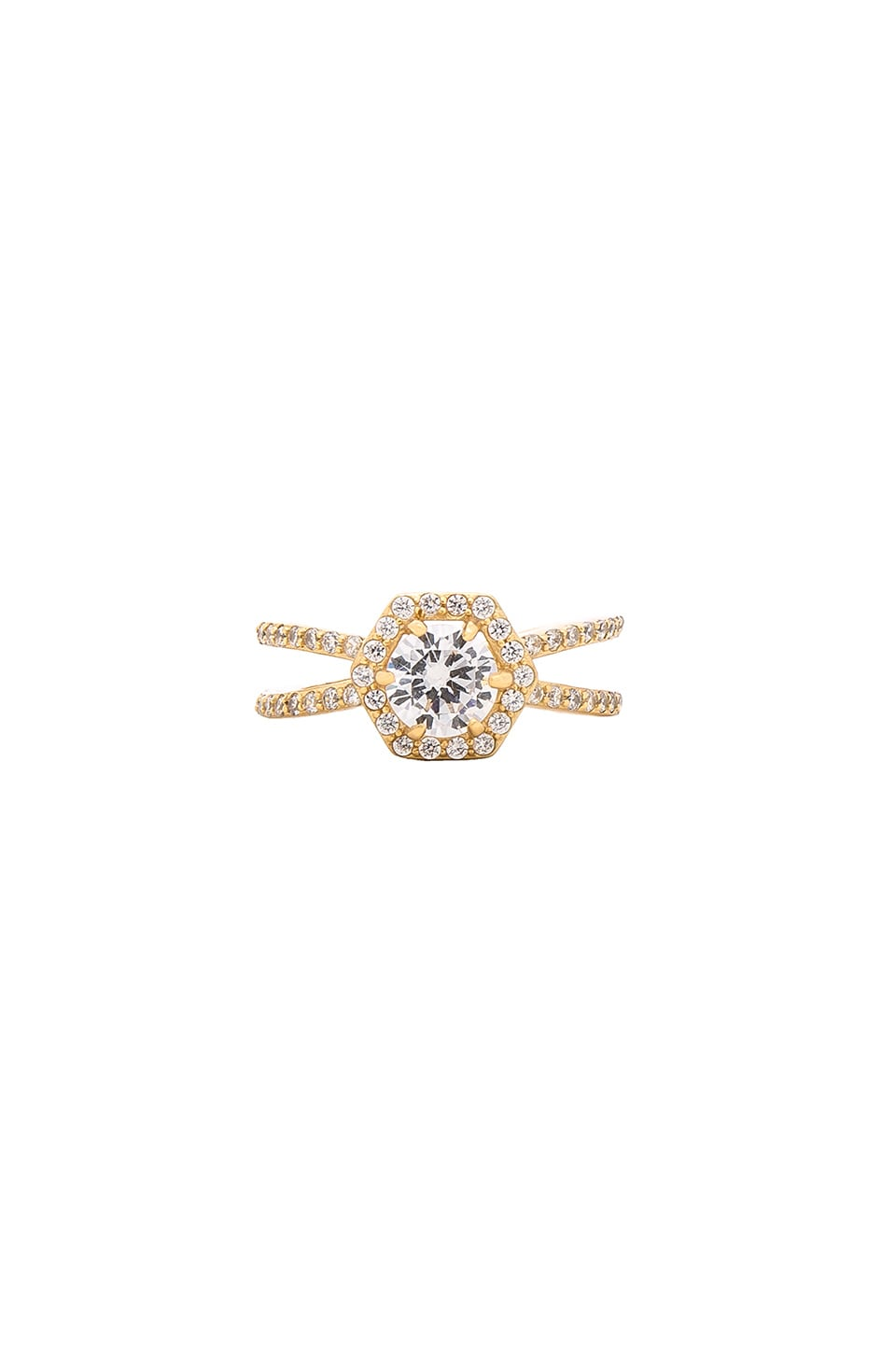 Luv AJ x REVOLVE Exclusive Stone Ring in 14K Gold