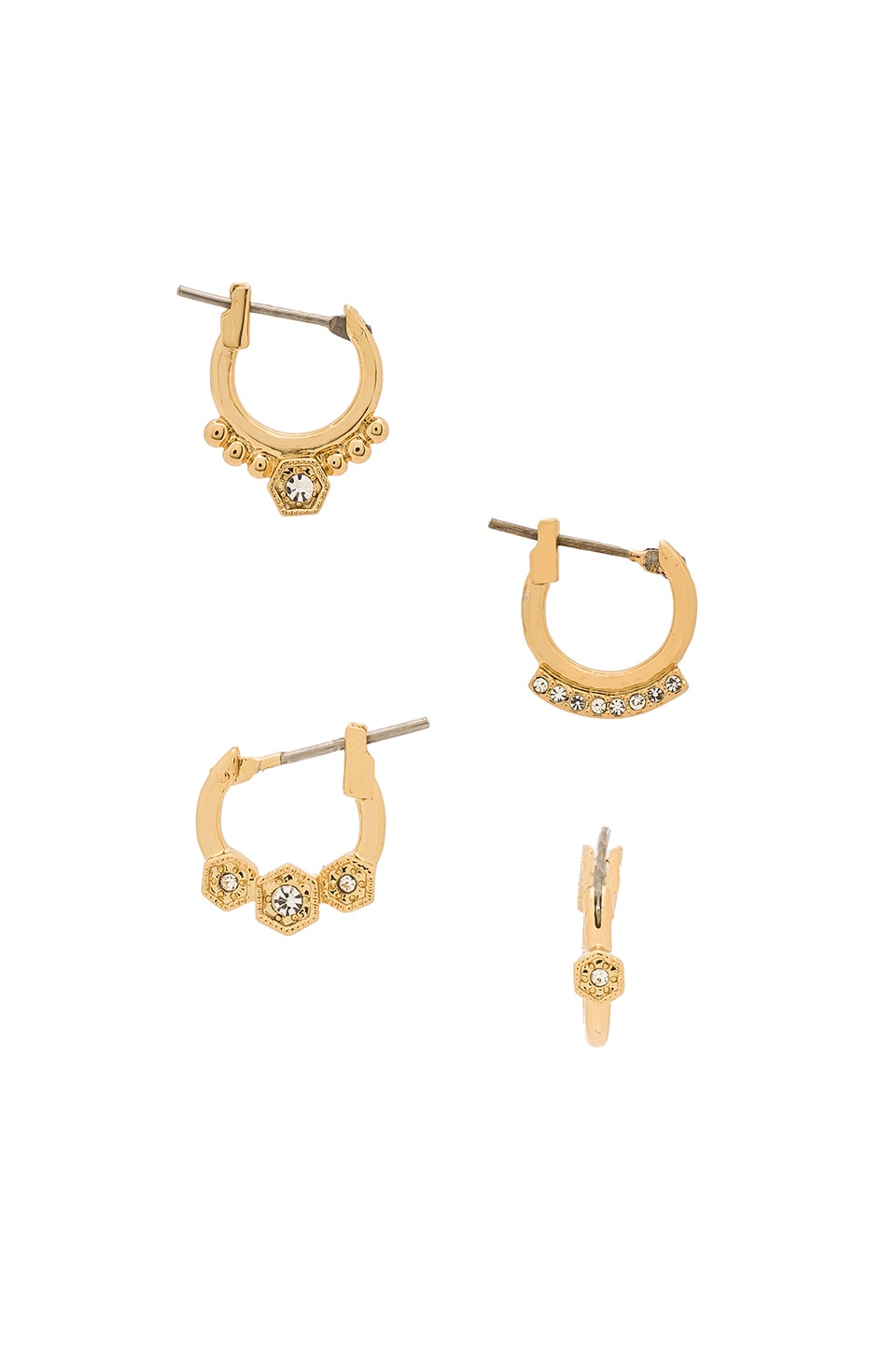 model yellow iconery products luv hook aj gold earrings kite