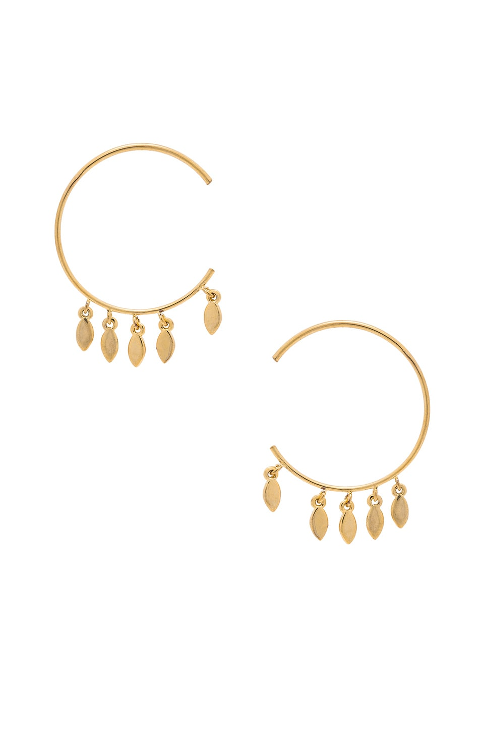 modesens gold product photo aj hoop statement multi rose earrings luv source