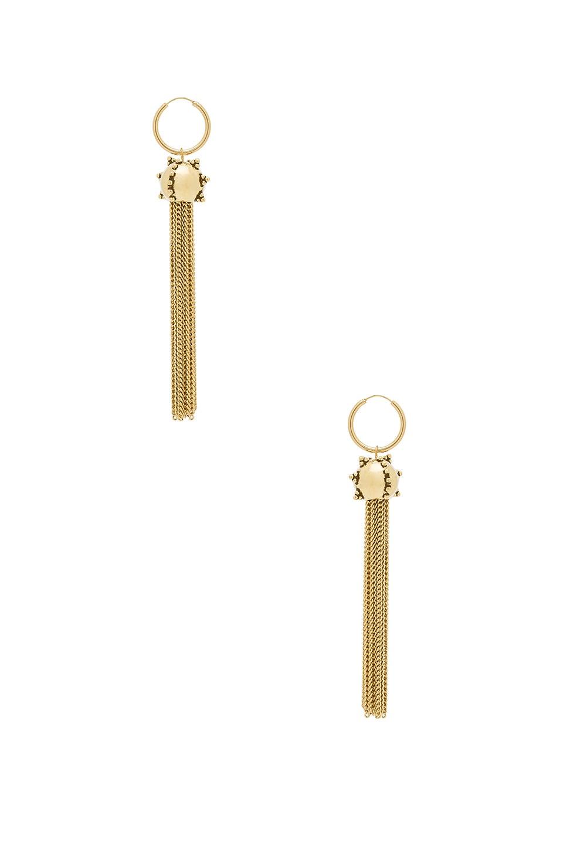 The Baroque Tassel Earrings by Luv AJ