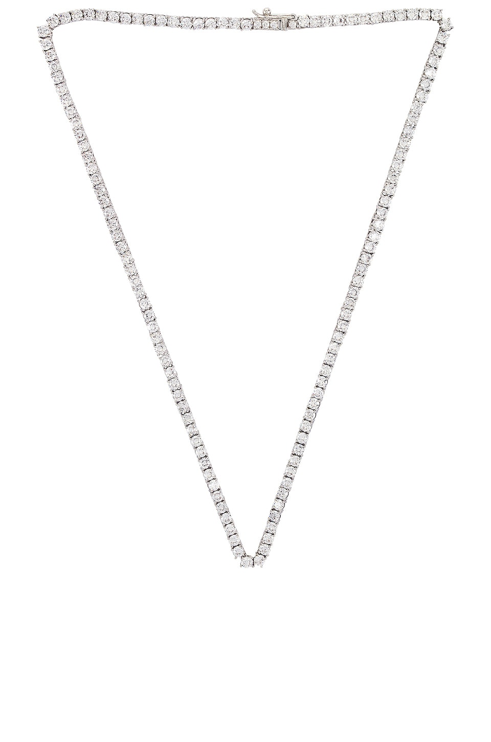 Luv AJ The Ballier Necklace in Silver