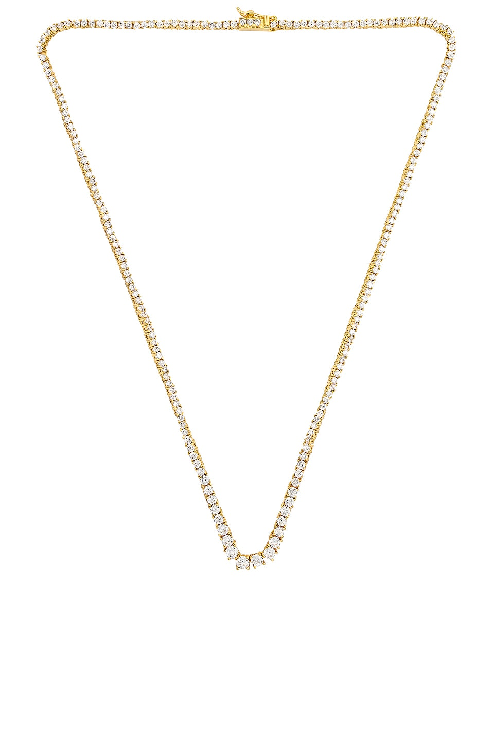 Luv AJ The Ascending Ballier Necklace in Gold