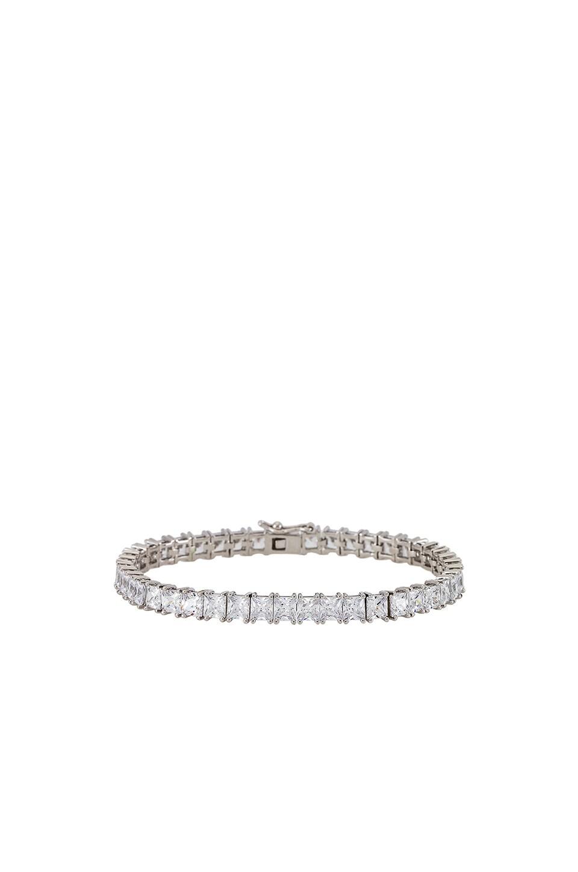 Luv AJ The Princess Ballier Bracelet in Silver