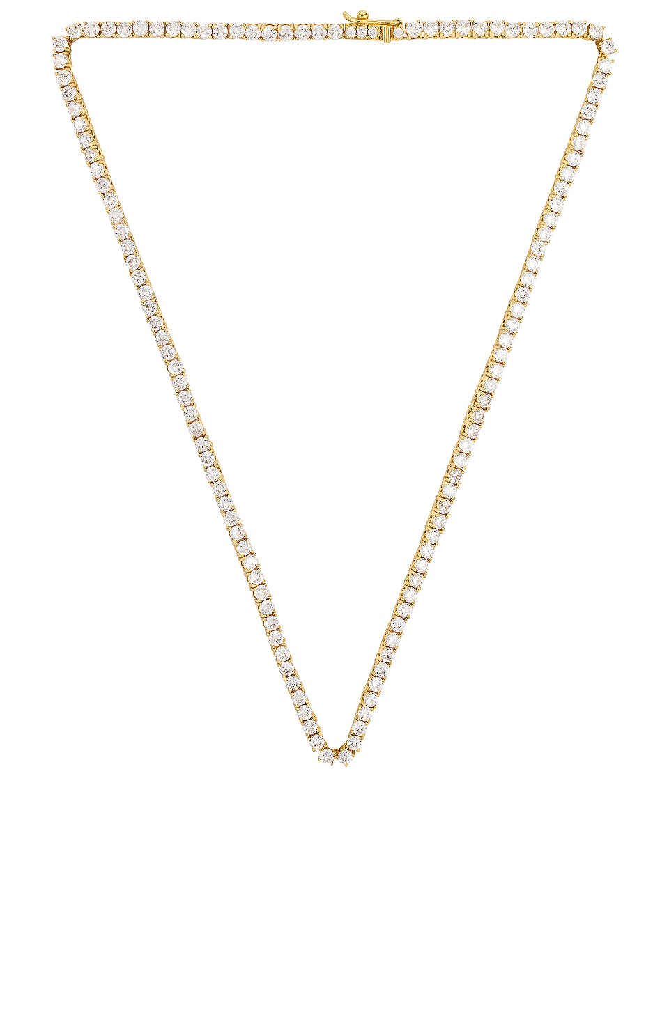 Luv AJ The Ballier Necklace in Gold
