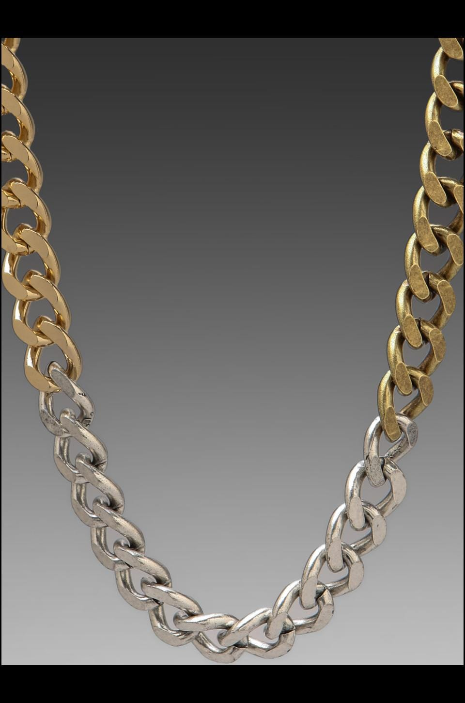 Luv AJ Ombre Chain Necklace in Ombre