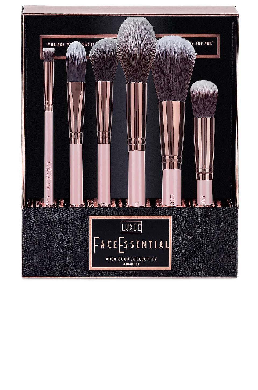 Rose Gold Face Brush Set