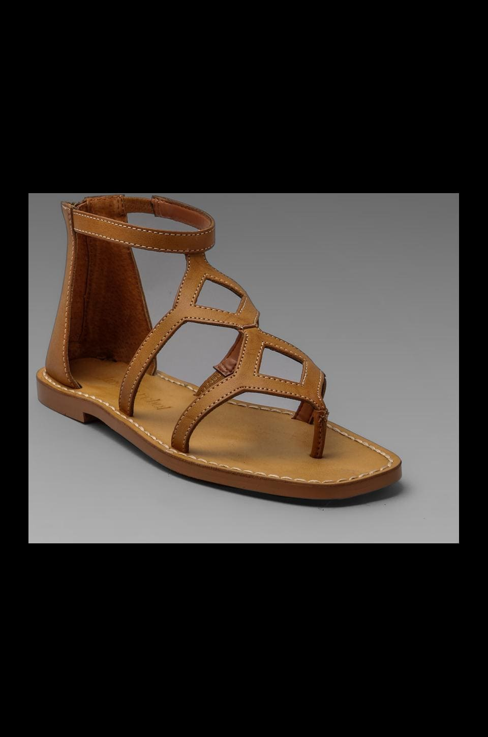 Luxury Rebel Kendall Sandal in Camel