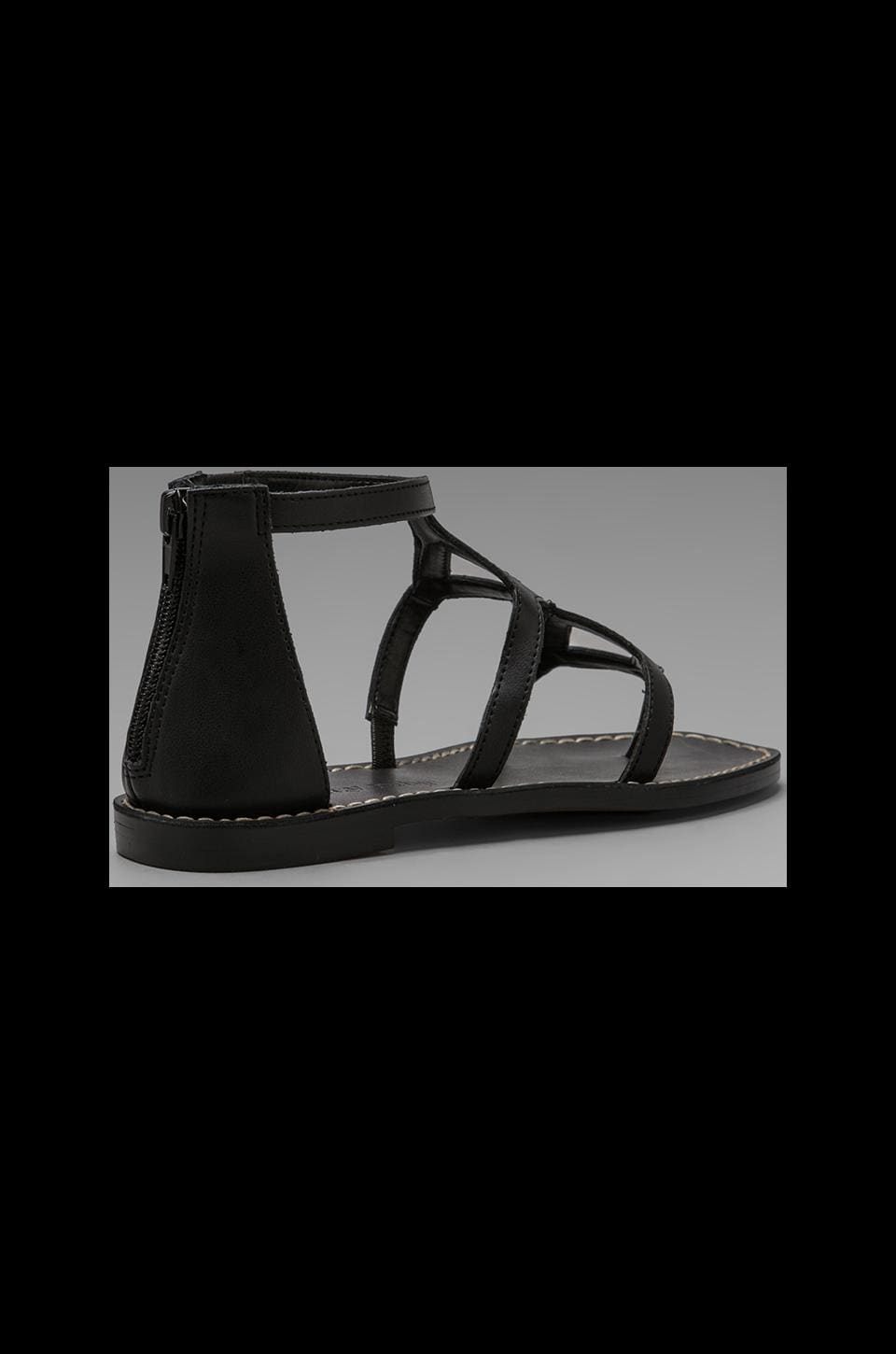 Luxury Rebel Kendall Sandal in Black