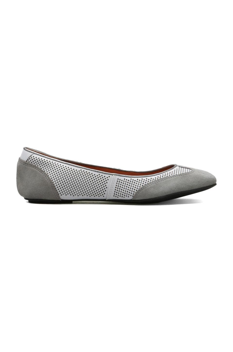 Luxury Rebel Benin Flat in Cement/White
