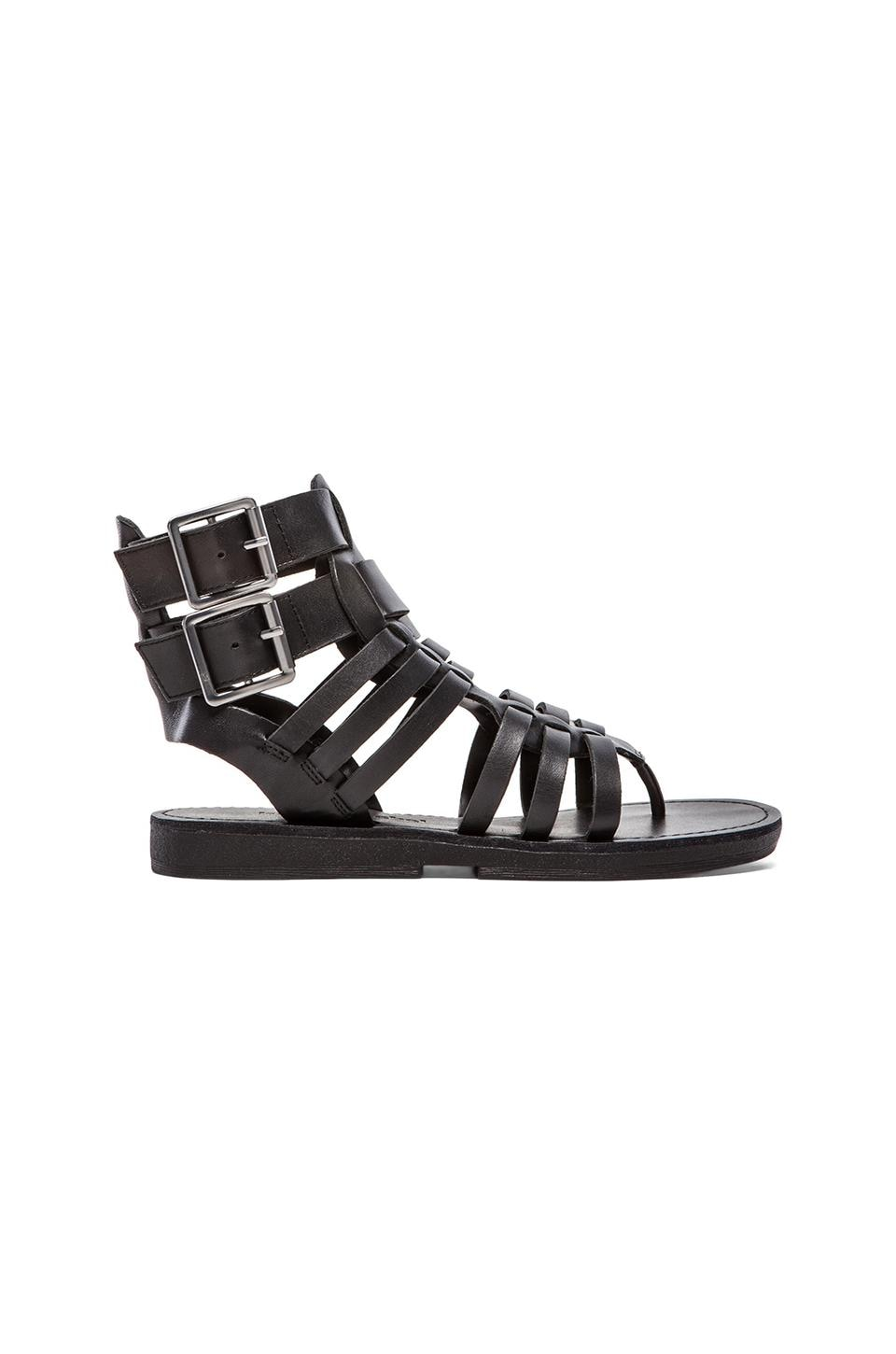 Luxury Rebel Dulcie Gladiator in Black