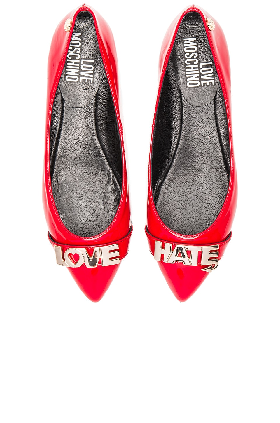 Love Hate Flat by Love Moschino