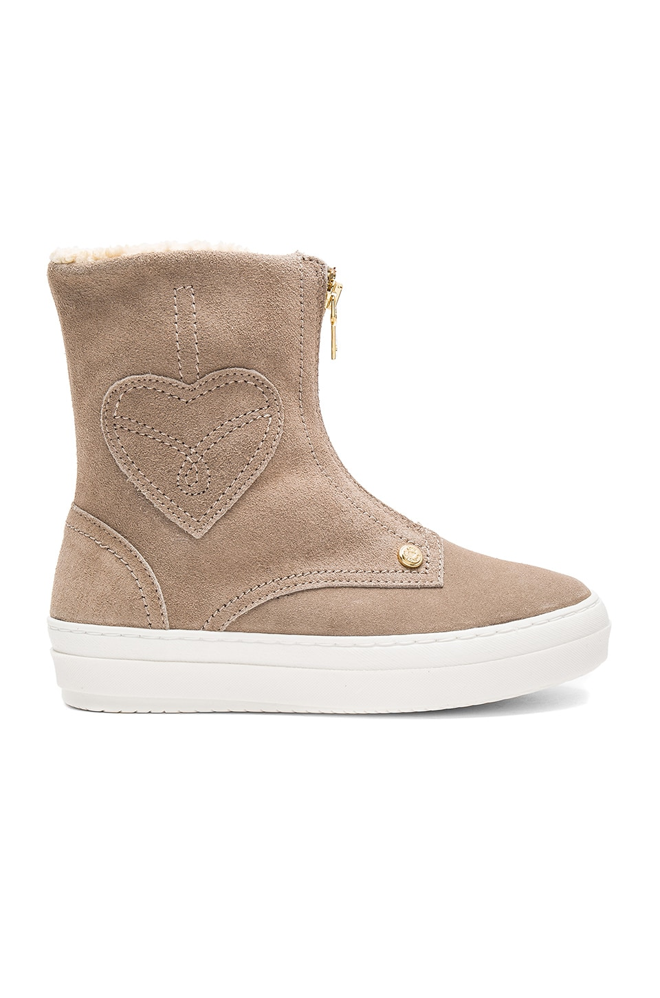 Ankle Boot with Sherpa Lining by Love Moschino