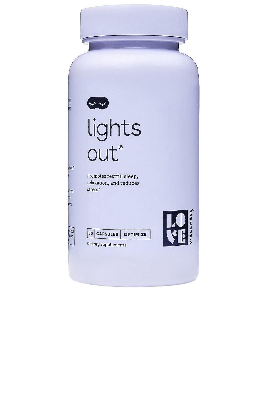 Love Wellness Lights Out