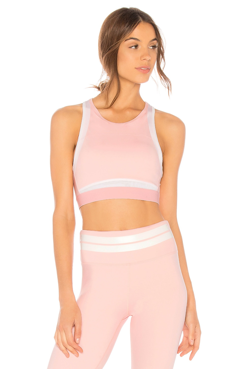 LILYBOD Petta Sports Bra in Pink