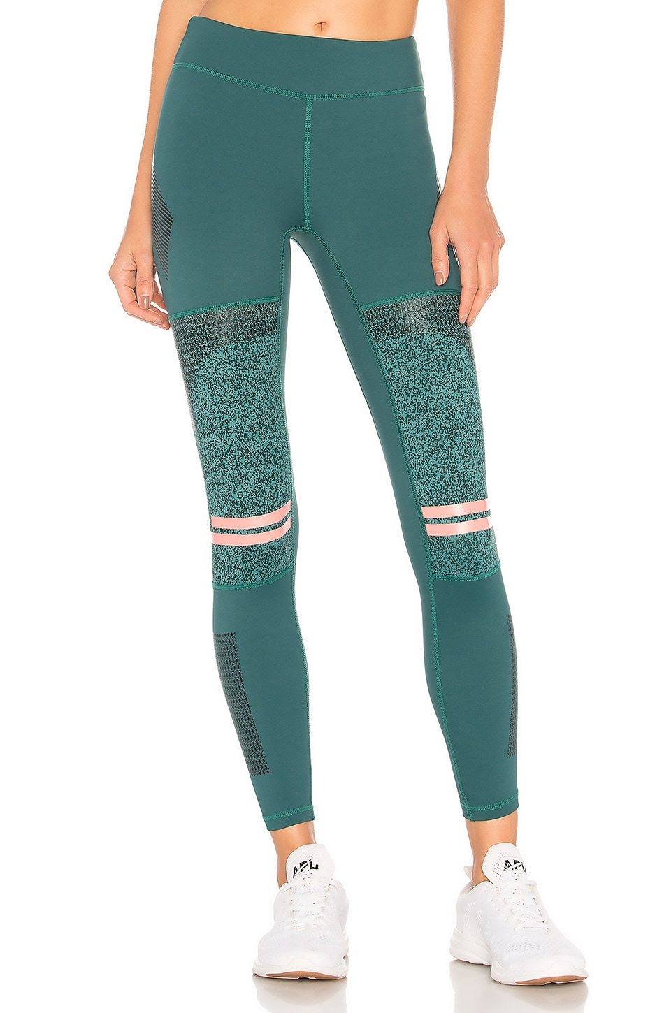 LILYBOD Frankie Legging in Dark Green
