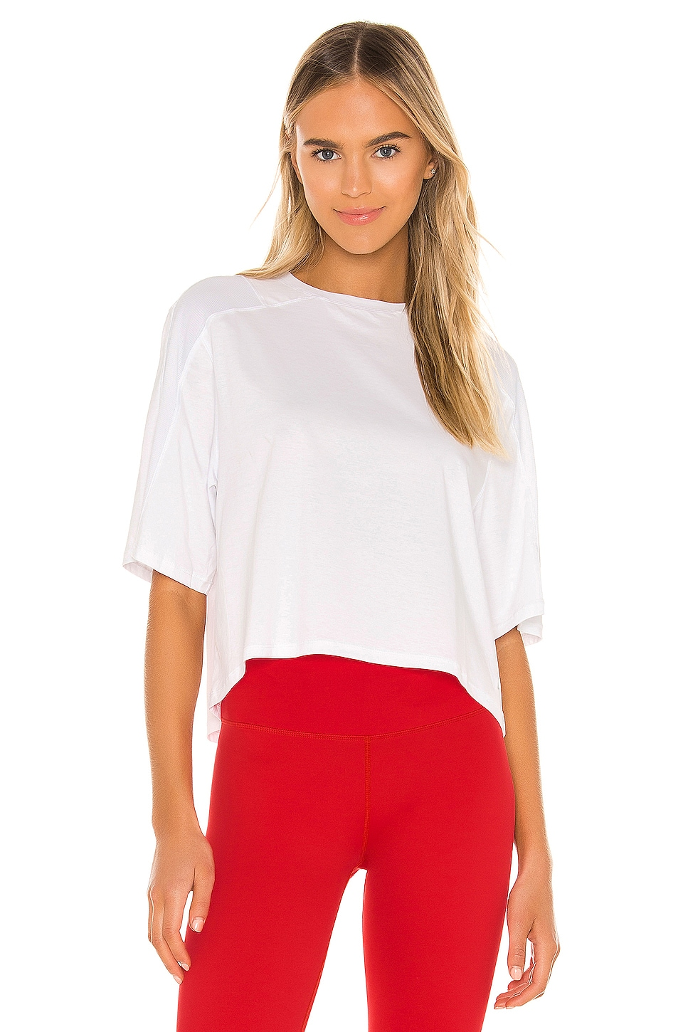 lilybod Cali Tee in Bright White