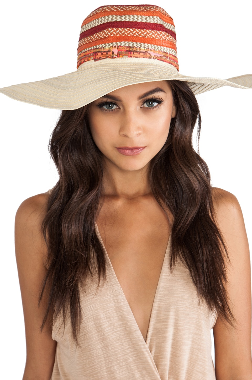 Maaji Floppy Hat in Orange