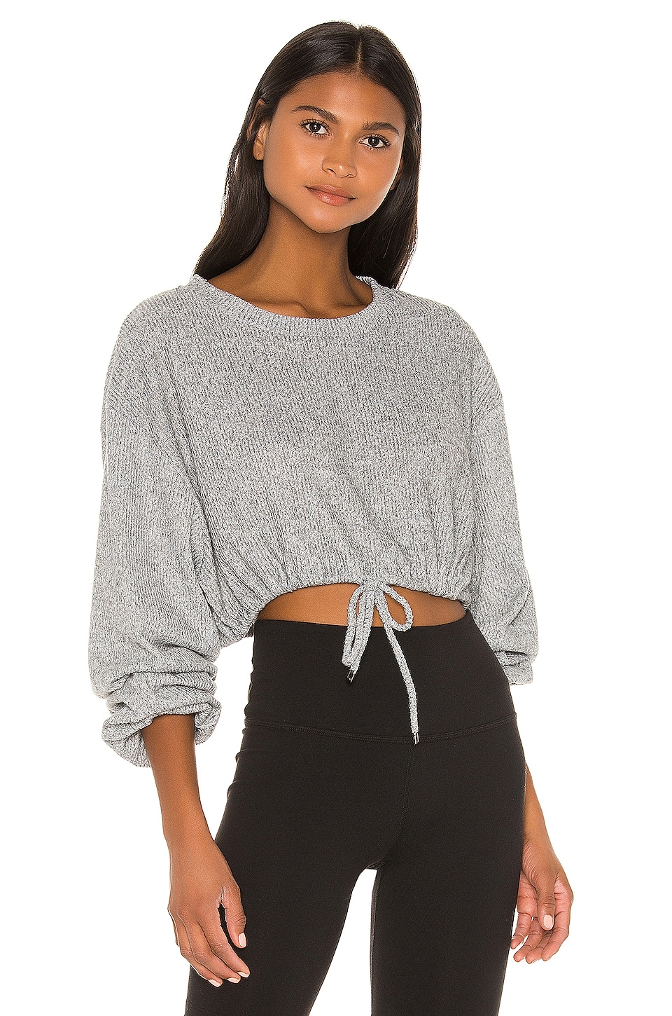 Maaji Long Sleeve Layer Sweatshirt in Icing Pewter
