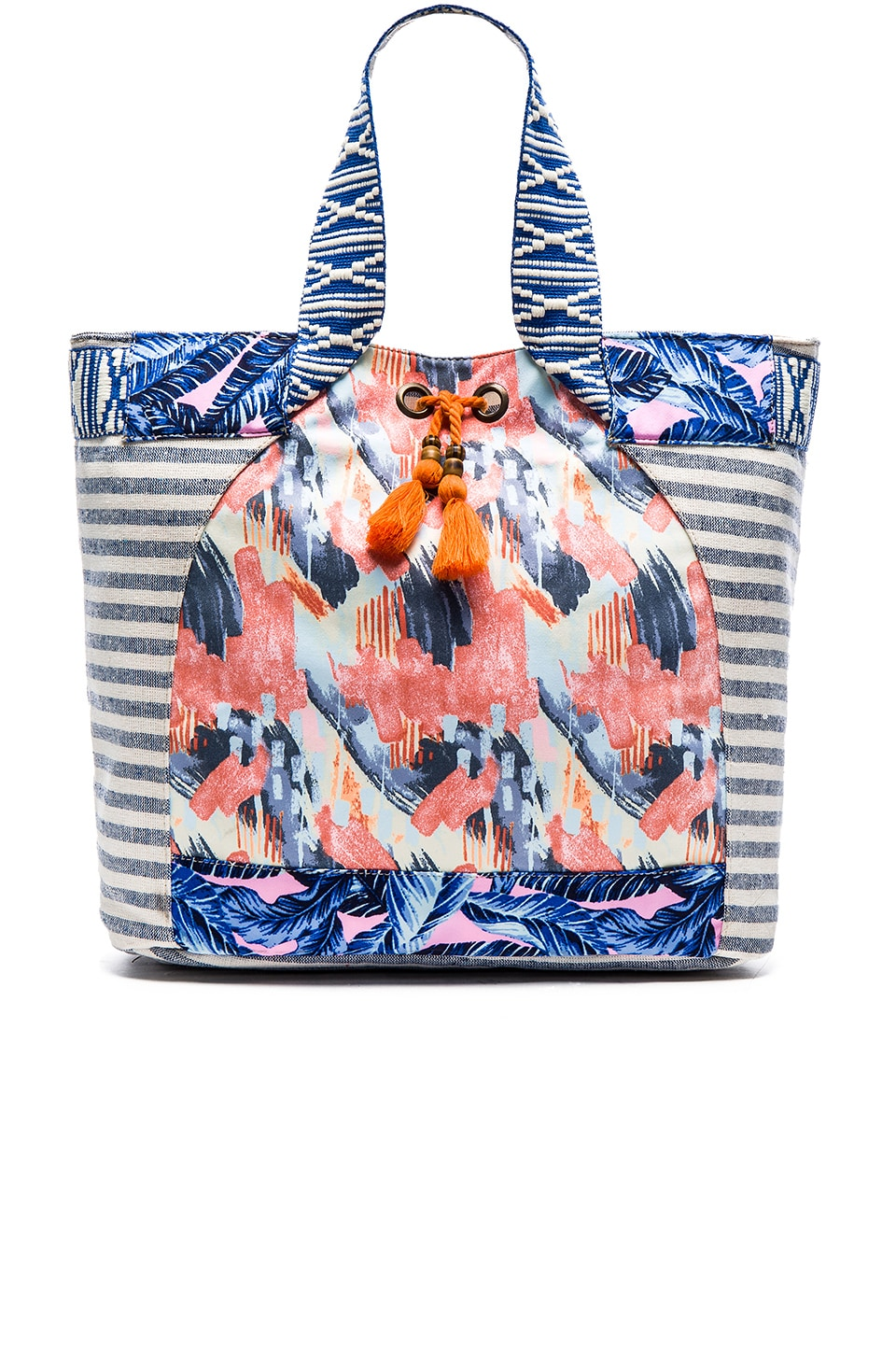 Maaji Beach Bag in Blue Multi