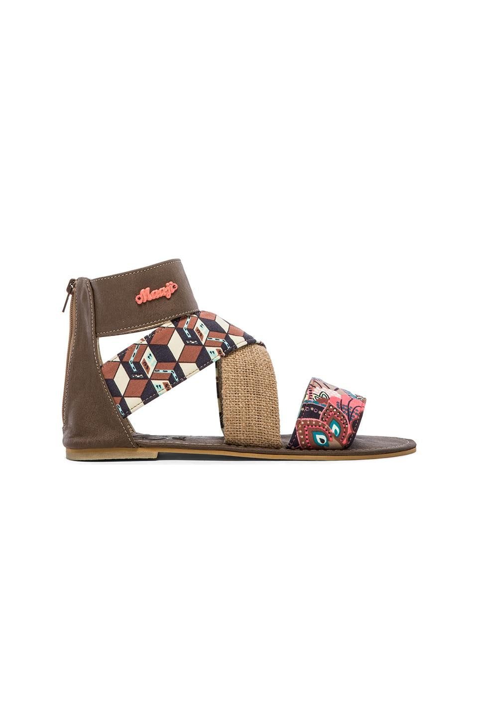 Maaji Sandals in Jute Brown