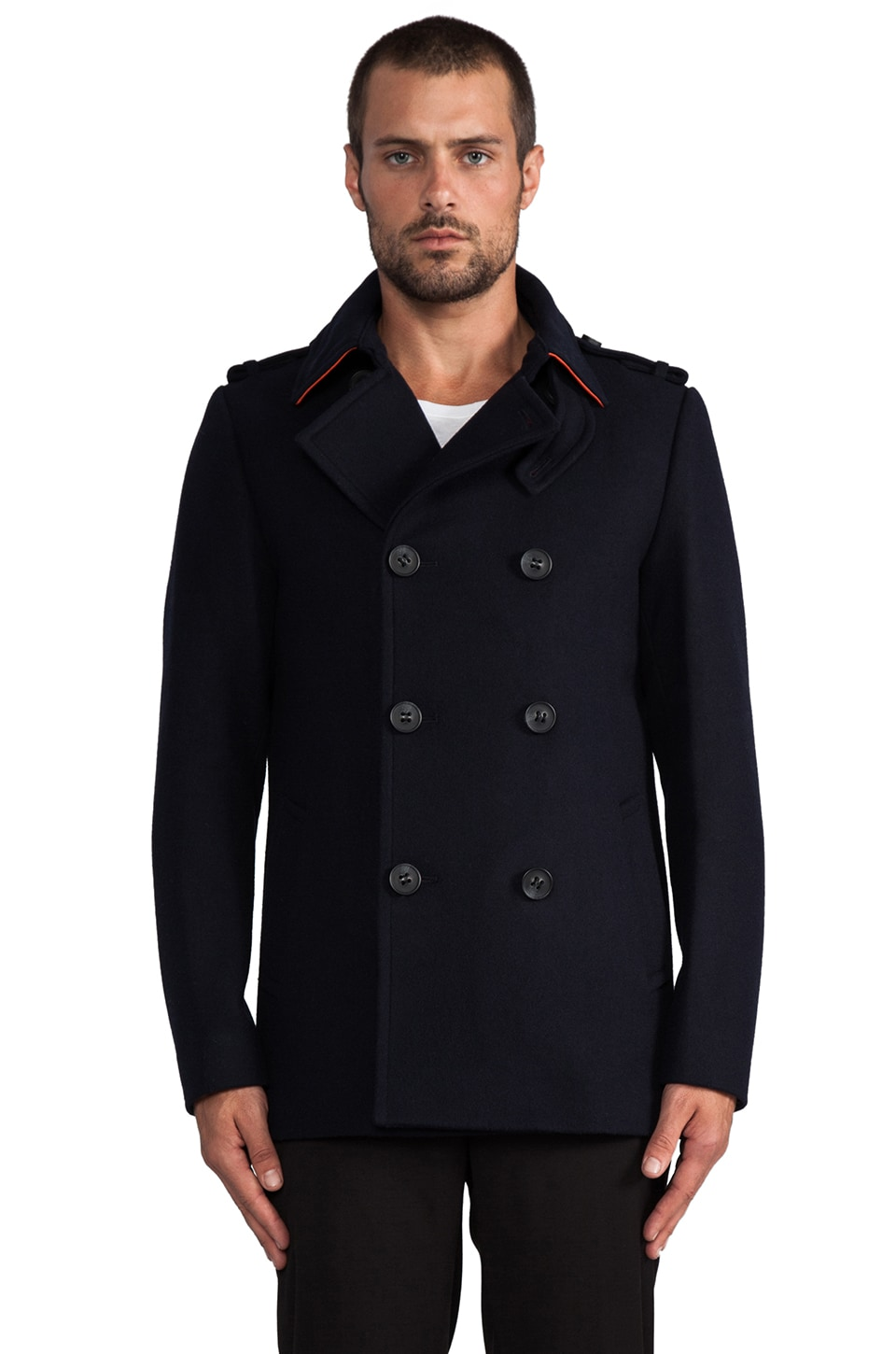 Mackage Carlo Peacoat in Navy