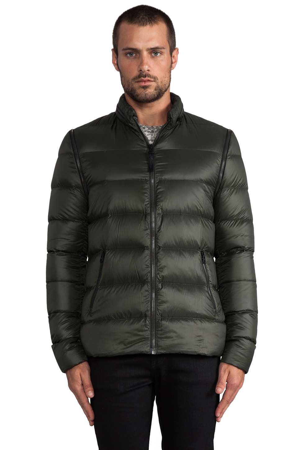 Mackage Lawrence Puffer Jacket in Army