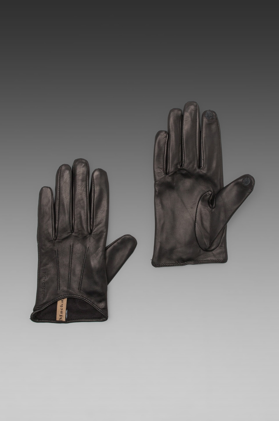 Mackage Alisee Ladies Leather Gloves in Black