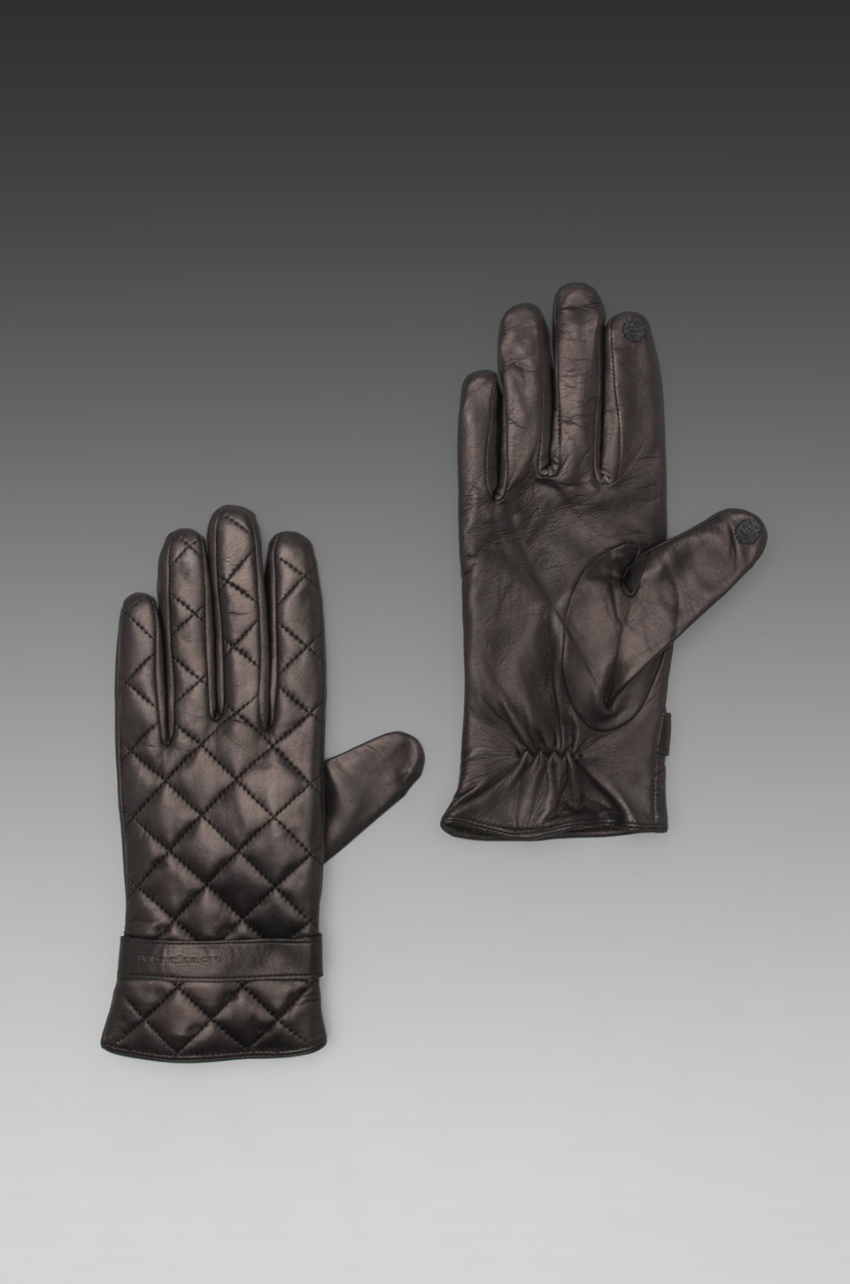 Mackage Nathalie Ladies Leather Gloves in Black
