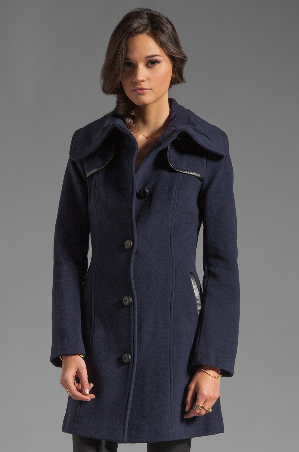 Mackage Janina Coat in Ink