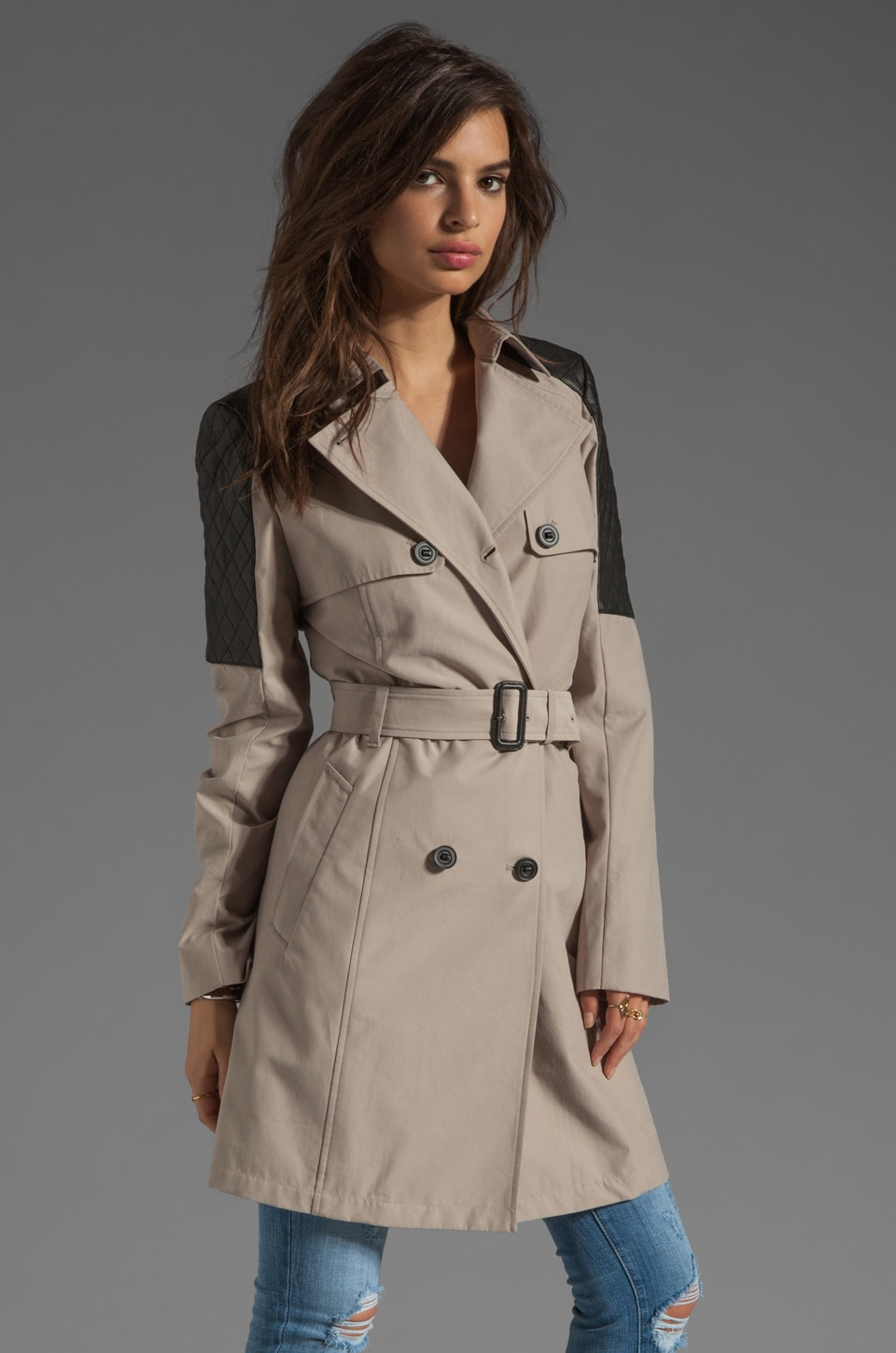 Mackage Lilith Neo Trench in Sand