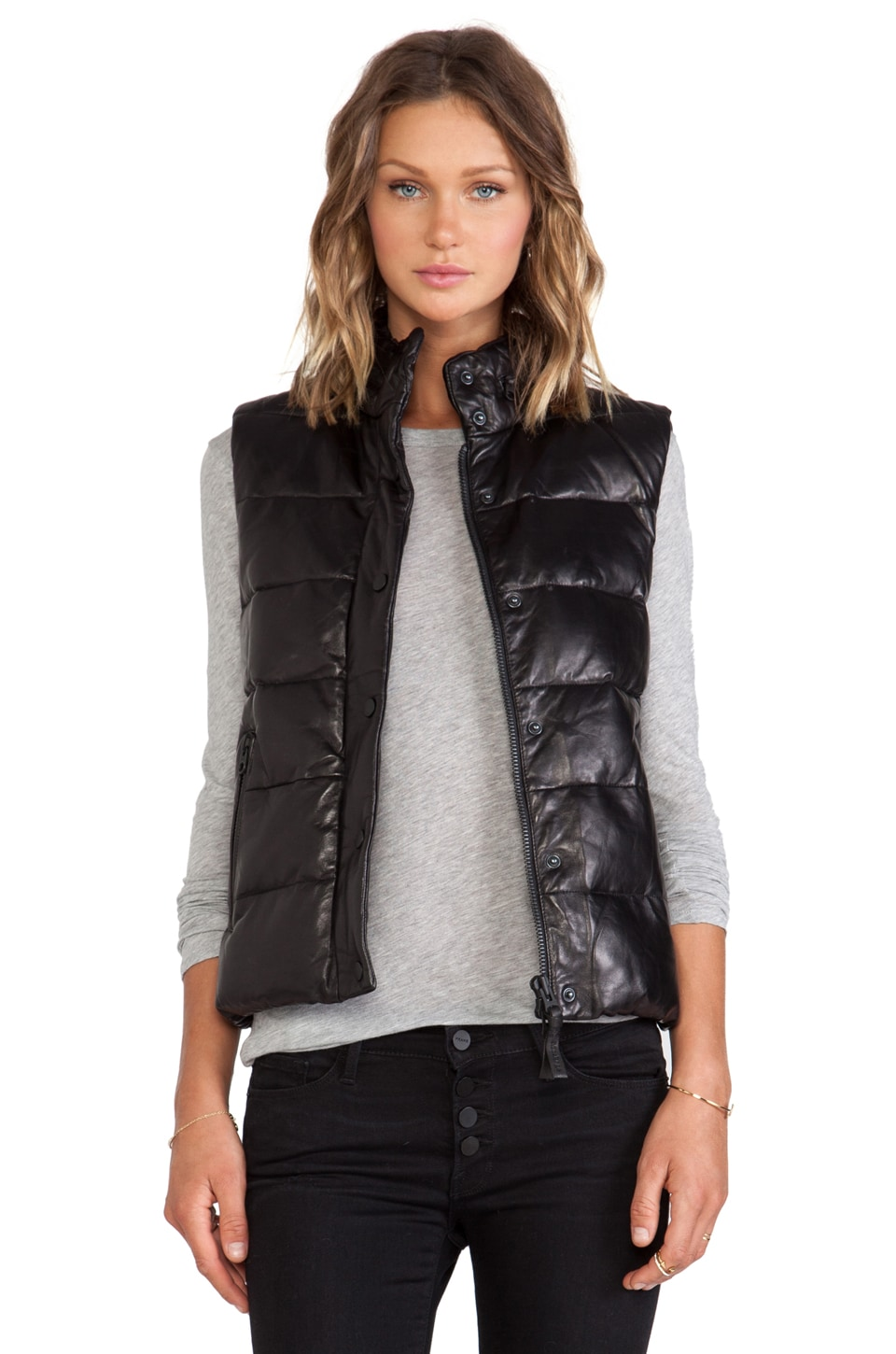 Mackage Gisa Vest in Black