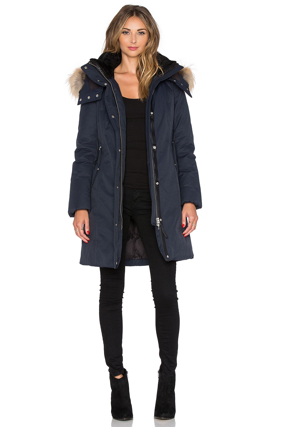 Kerry Jacket with Asiatic Raccoon Fur and Sheepskin at REVOLVE