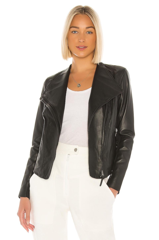 Mackage Dinah Leather Jacket in Black