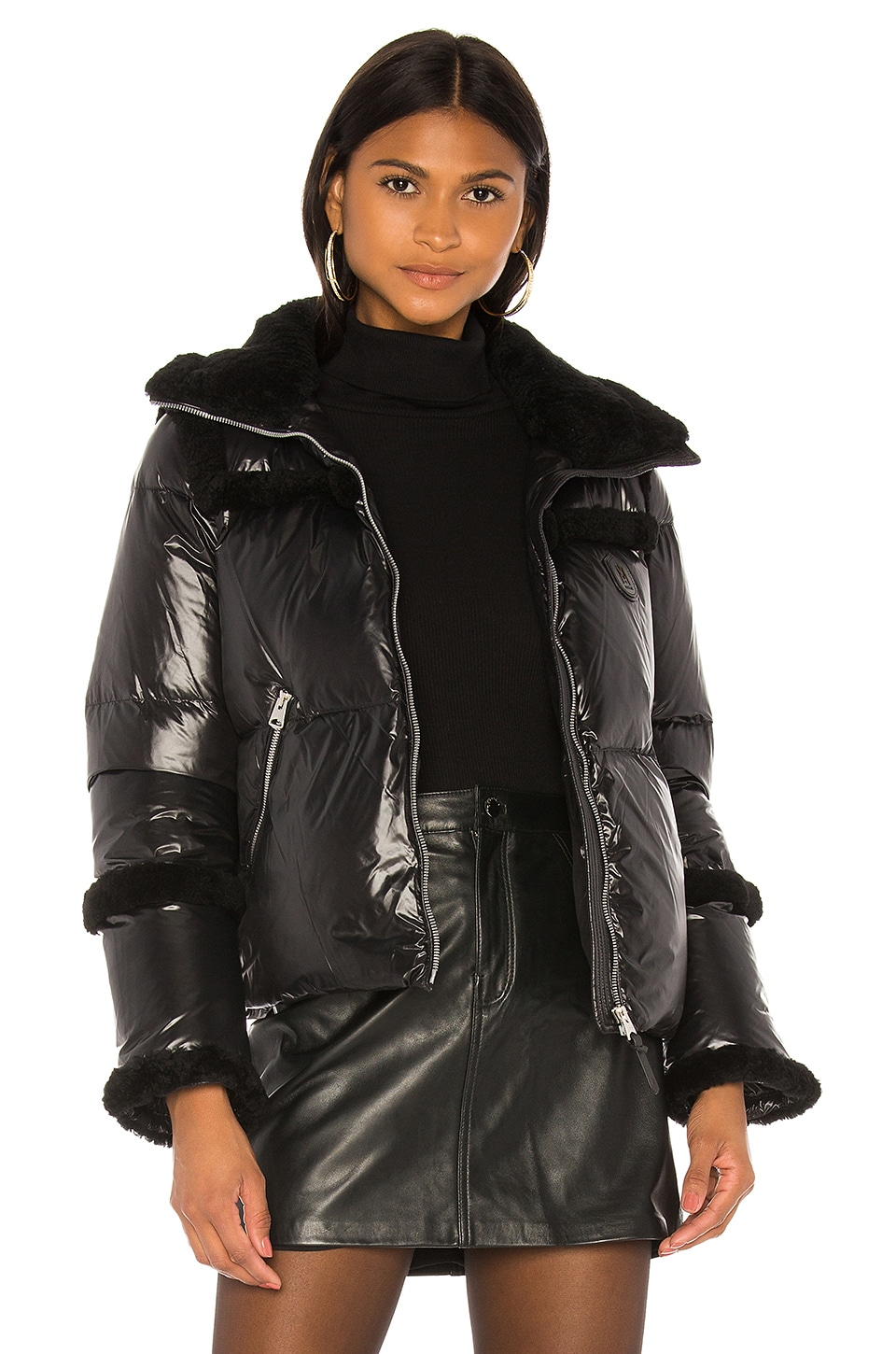 Mackage Miya Puffer Jacket in Black