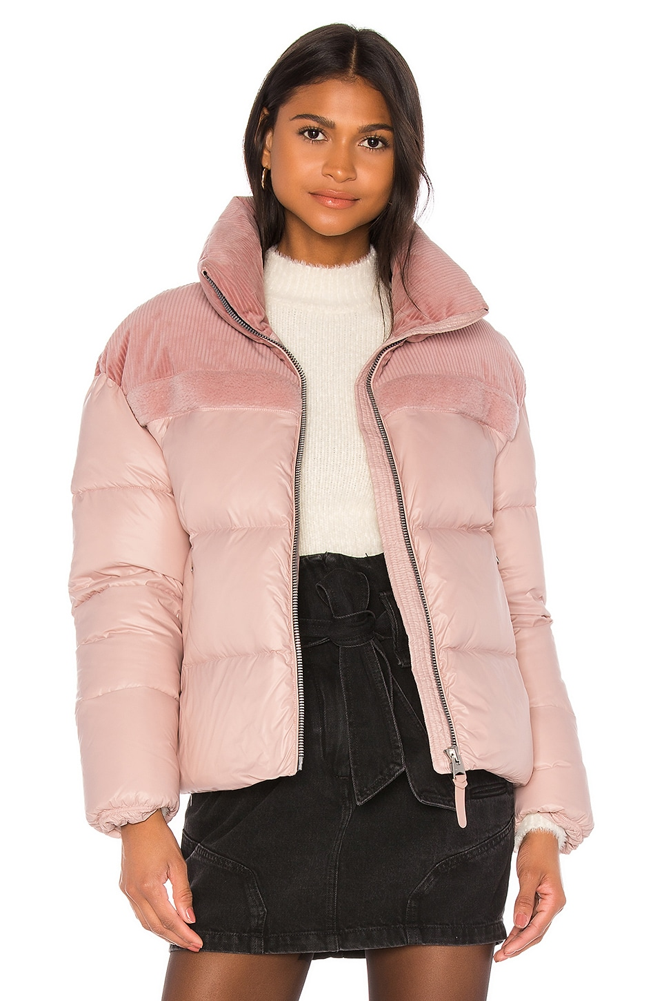 Mackage Jamie Puffer Jacket in Petal
